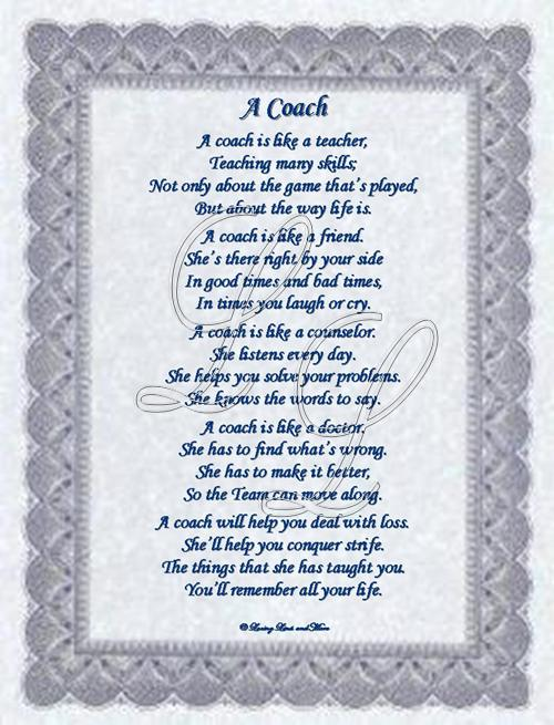click here to view a coach poem for a male