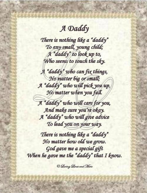 Poem happy birthday to dad in heaven