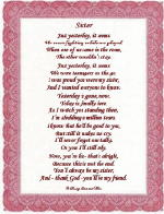 Sister poem is for that special sister on her wedding day poem may be