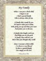 My Family Poem